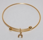 Horseshoe Bracelet - gold