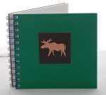Moose Copper Charm Journal