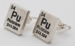 Plutonium Earrings - silver