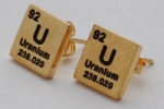Uranium Earrings - gold