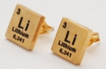 Lithium Elements Earrings - gold