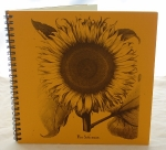 Sunflower Gold Journal