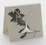 Mermaid Tail Necklace - silver