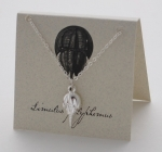 Horseshoe Crab Necklace - silver
