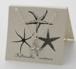 Starfish Necklace - silver