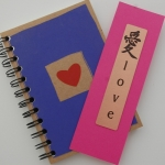 One Love Journal and Bookmark
