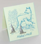 Alaska Wolf Earrings