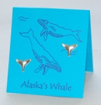 Alaska Whale Tail Earrings