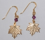 Sugar Maple French Wire Earrings - gold